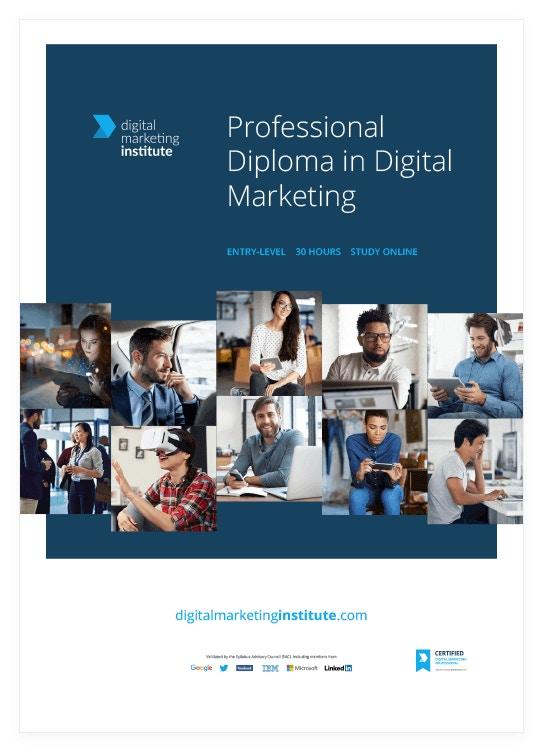 digital marketing professional diploma enrolling now dmi