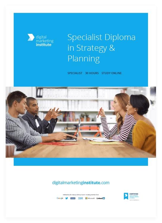 Digital Marketing Strategy & Planning Course | Enrol Now | Study Online