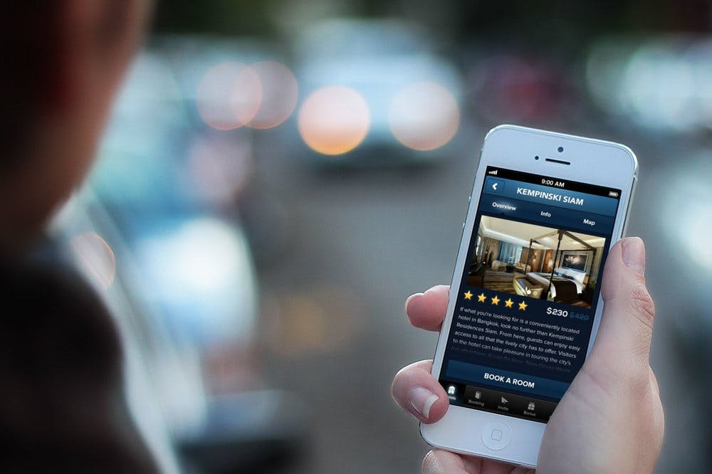رزرو هتل بصورت آنلاین
