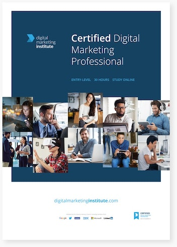 Certified Digital Marketing Professional | Digital Marketing Institute