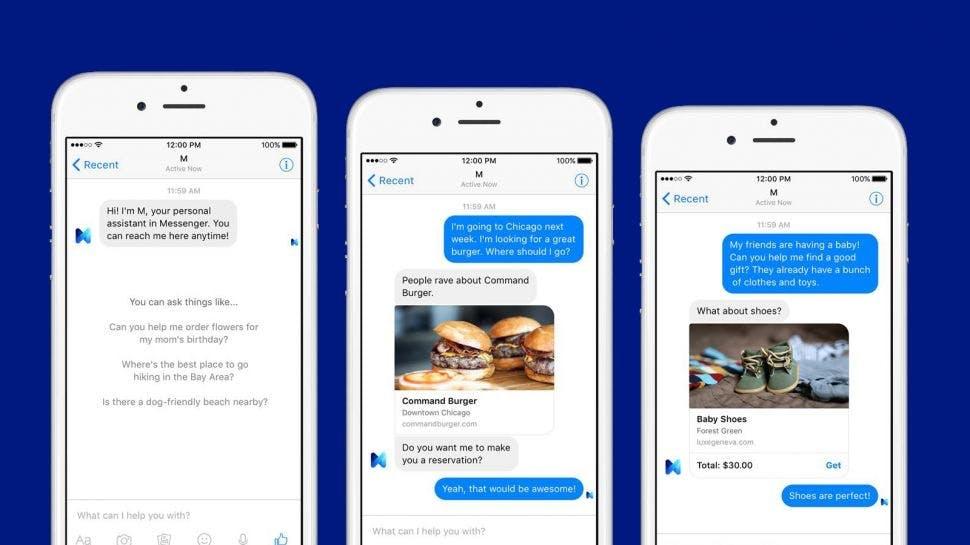 مشکلی با فیسبوک Chatbot ما اشتباه است.