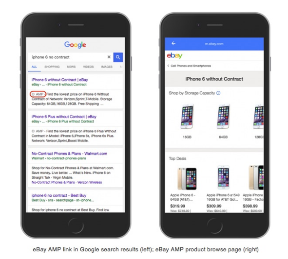 AMP allows you to convey your information quickly and cleanly and can appear in the Google News carousel.
