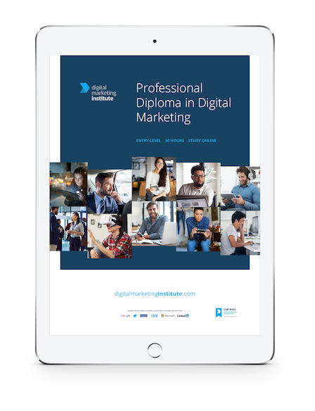 Certified Digital Marketing Professional - Course Brochure