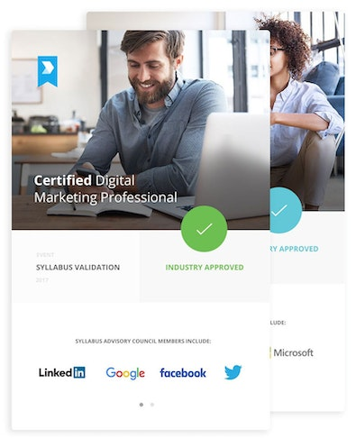 Become a Certified Digital Marketing Associate