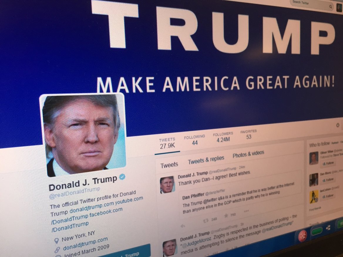 Trump presidential campaign.
