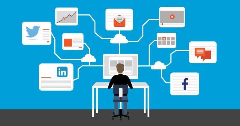 Der Social Media Algorithmus unterstütz die User Experience und Verweildauer zu optimieren.